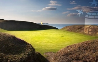 visitors to Whitsand Bay Golf Club