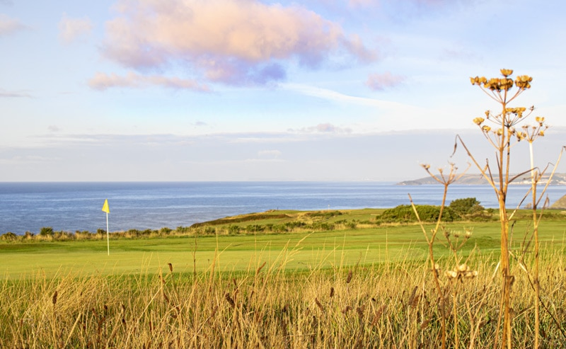 at Whitsand Bay Golf Club coastal golf course photo