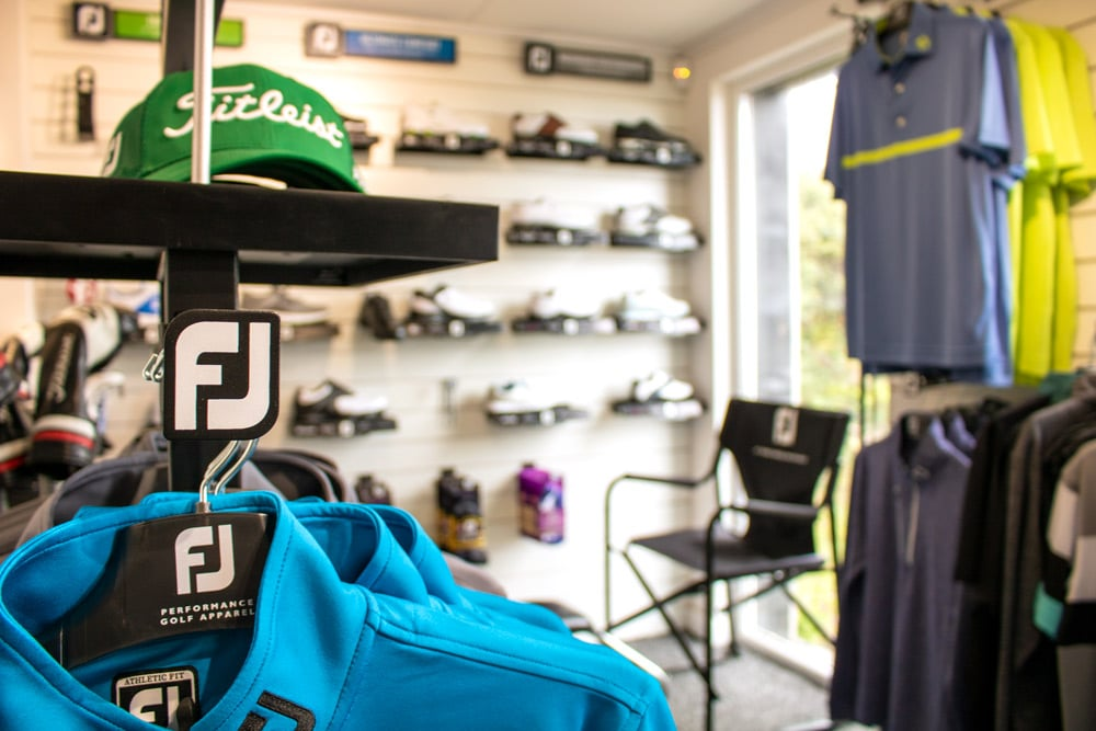 Pro shop at Whitsand Bay Golf Club