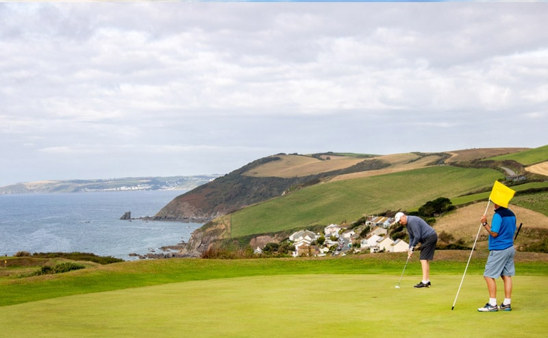 coastline views at Whitsand Bay Golf Club
