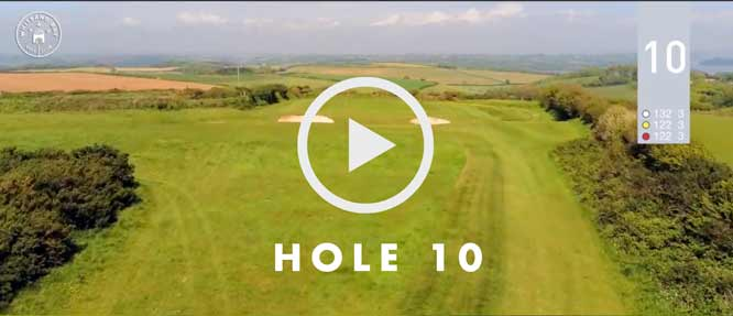 hole 10 Whitsand Bay golf club