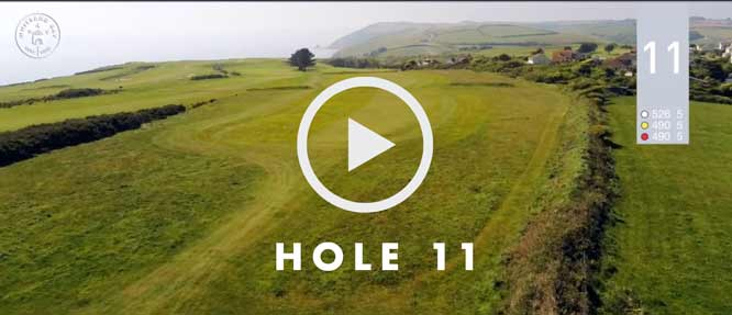 hole 11 Whitsand Bay golf club