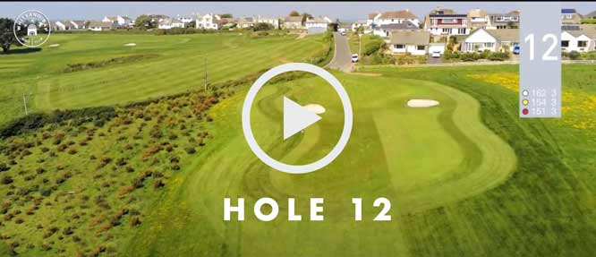 hole 12 Whitsand Bay golf club