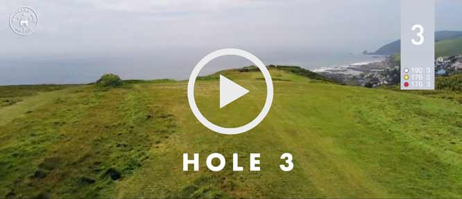 hole 3 Whitsand Bay golf club