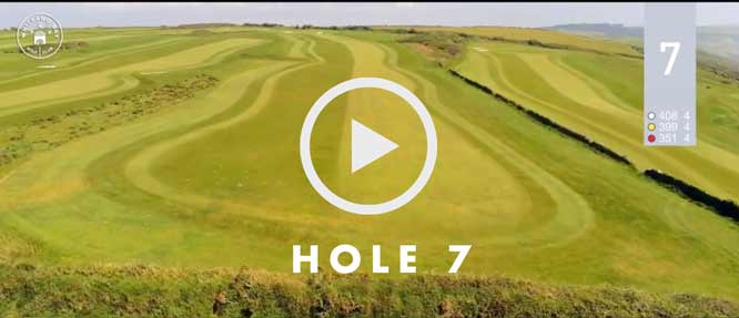 hole 7 Whitsand Bay golf club